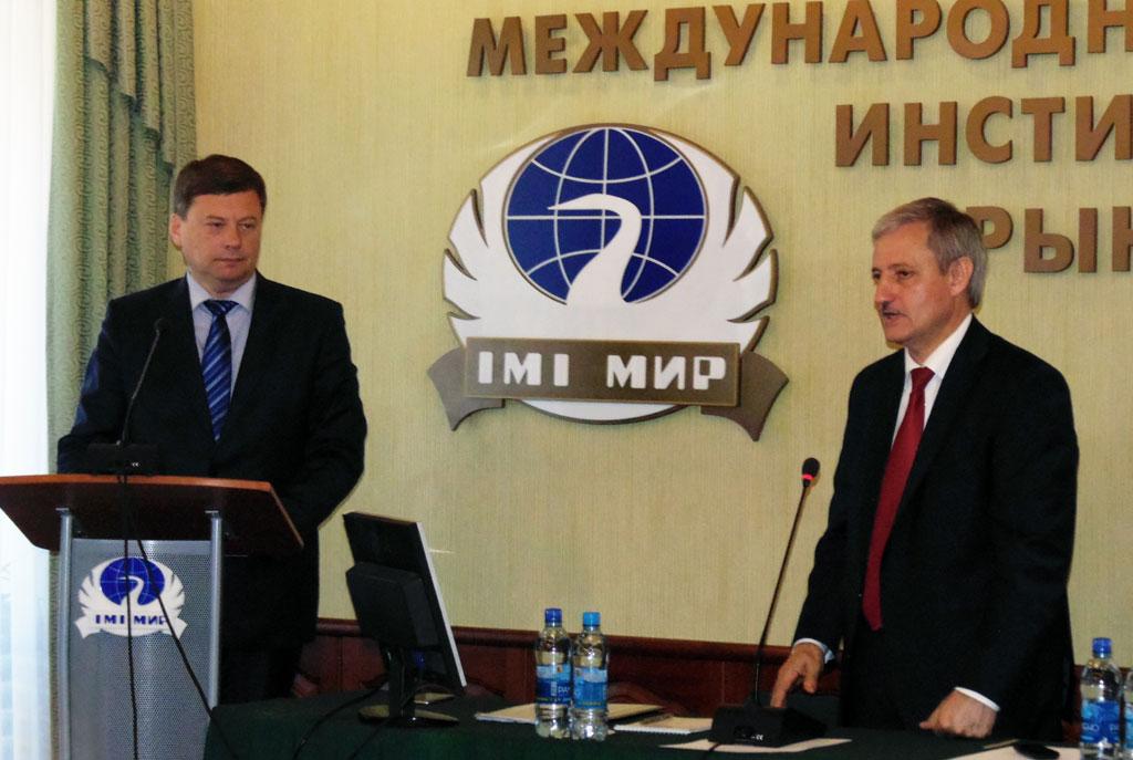 Встреча Главы Самары с коллективом МИРа