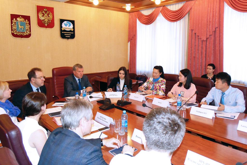 Заместитель полпреда Президента РФ провел рабочее совещание в МИРе
