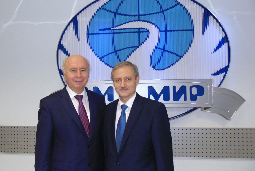Визит Губернатора Самарской области в МИР