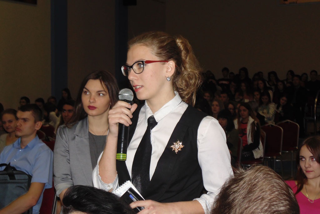 Встреча Главы Самары Олега Фурсова со студентами МИРа