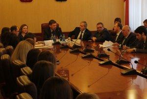 Открытая встреча студентов МИРа с Главой Самары Олегом Фурсовым