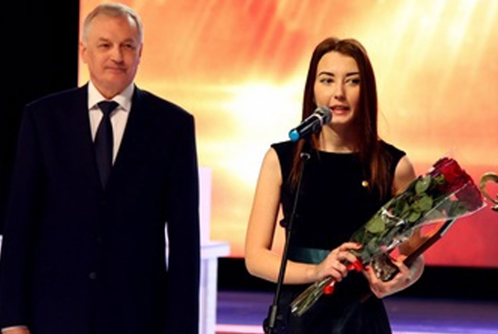 Студентка МИРа Екатерина Кузьмина – лауреат акции «Народное признание»