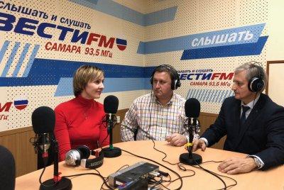 В эфире радиостанции «Вести FM»