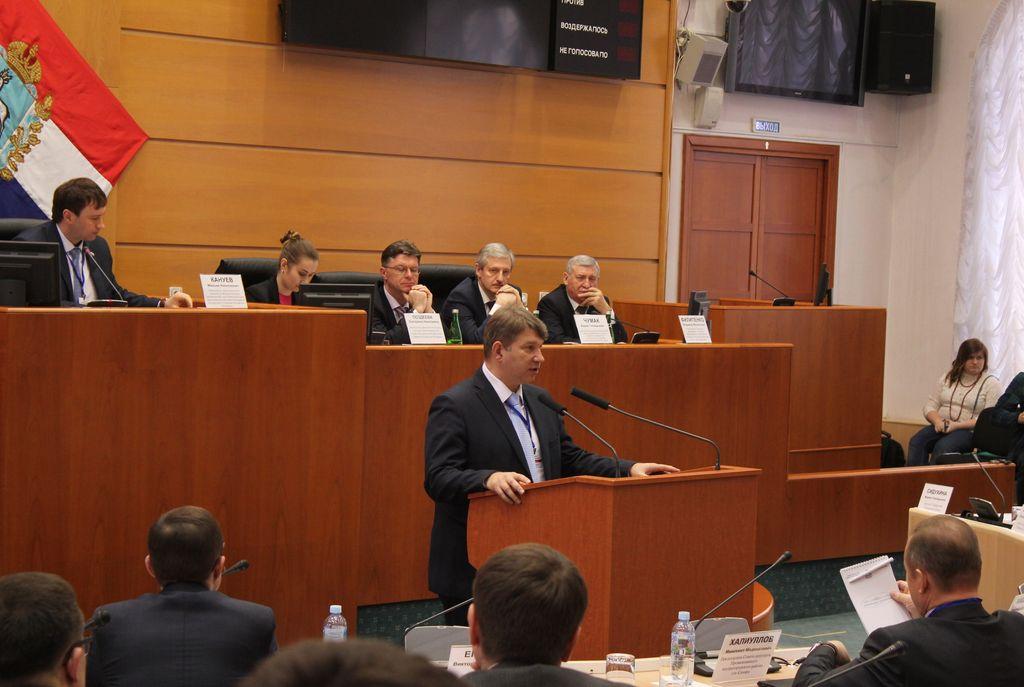 Выступление председателя орг. комитета форума Березовского Д.В.