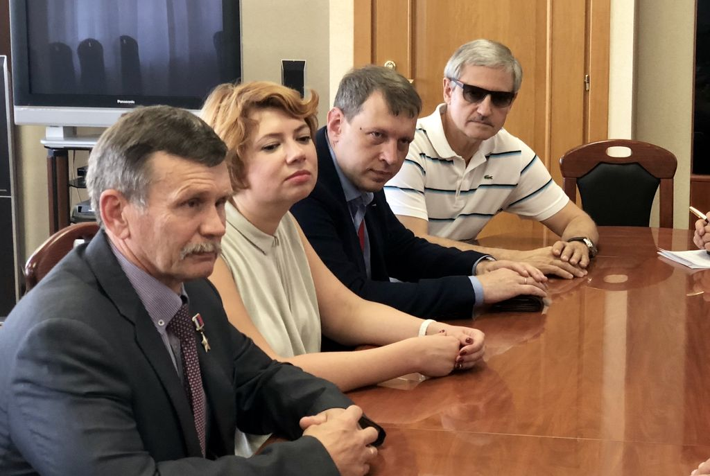 Визит В.А.Бочарова в Самарскую область