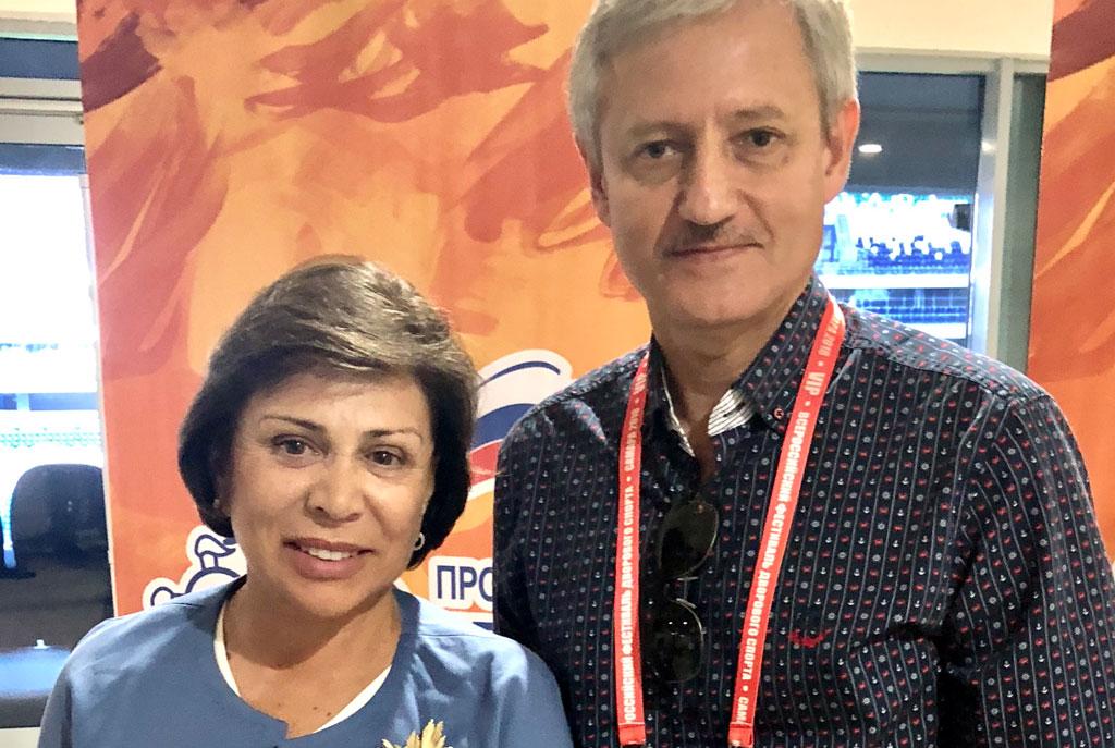 Вадим Чумак и Ирина Роднина
