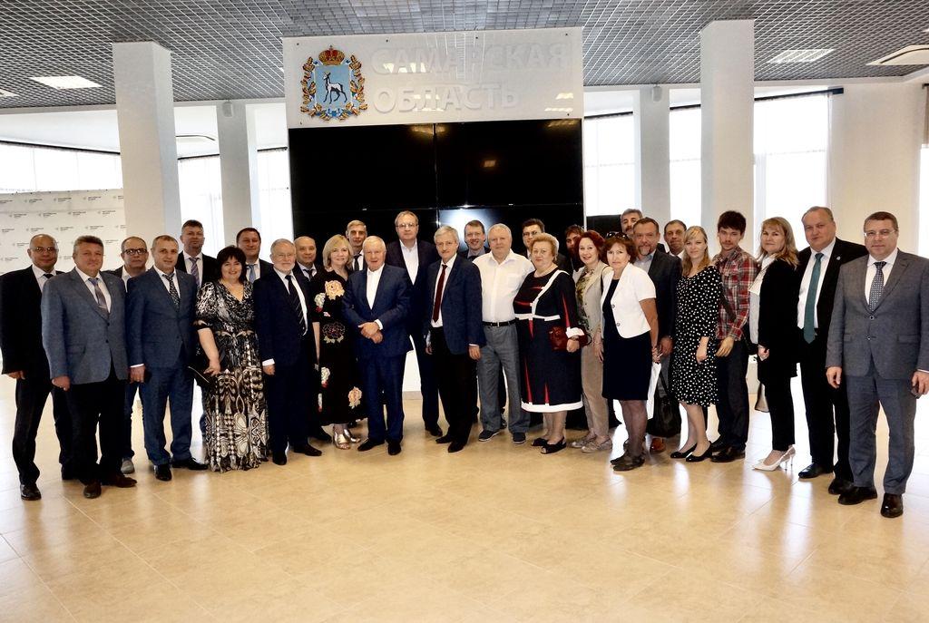 Самарские общественники обсудили актуальную повестку дня с Валерием Фадеевым