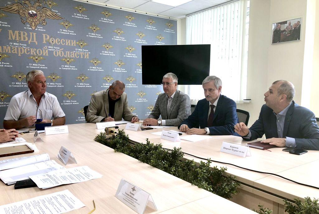 Прошло заседание президиума общественного совета при ГУ МВД России по Самарской области