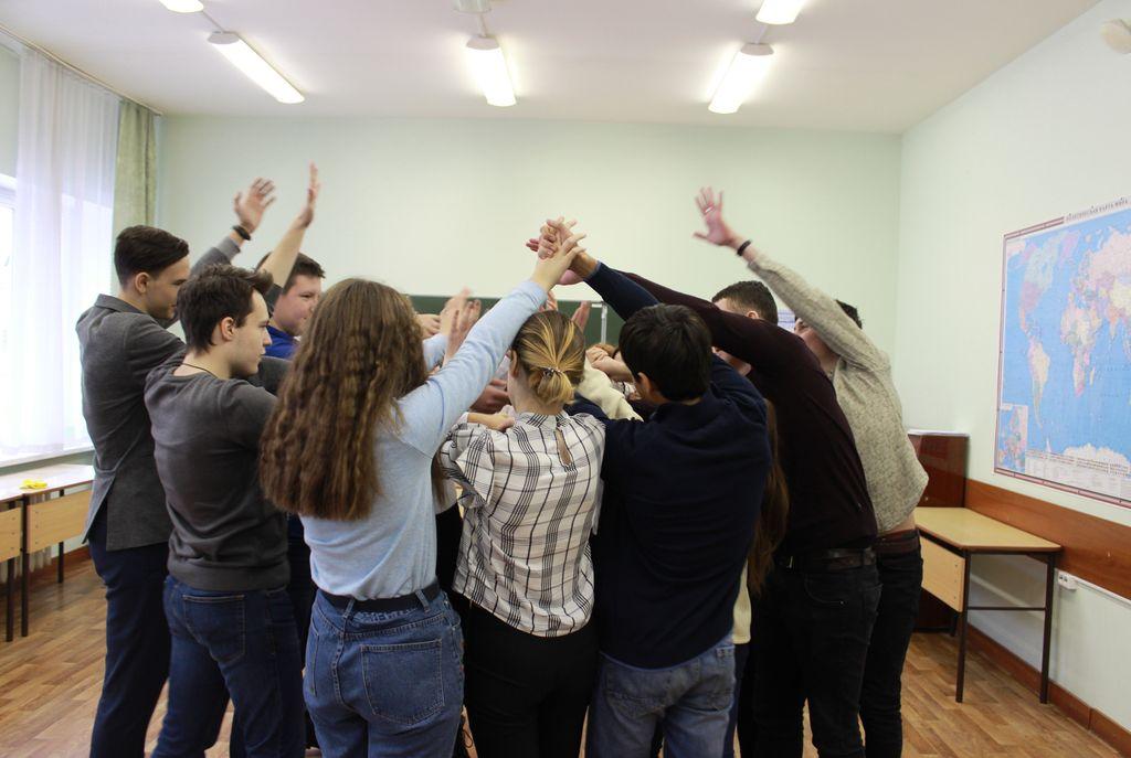 Школа ученического самоуправления. Первая сессия