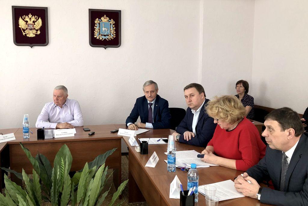 Заседание Совета Общественной палаты Самарской области