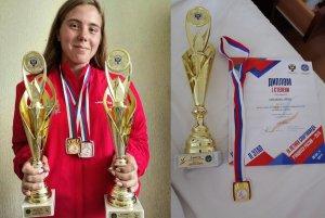 Поздравляем Арину Симакову!