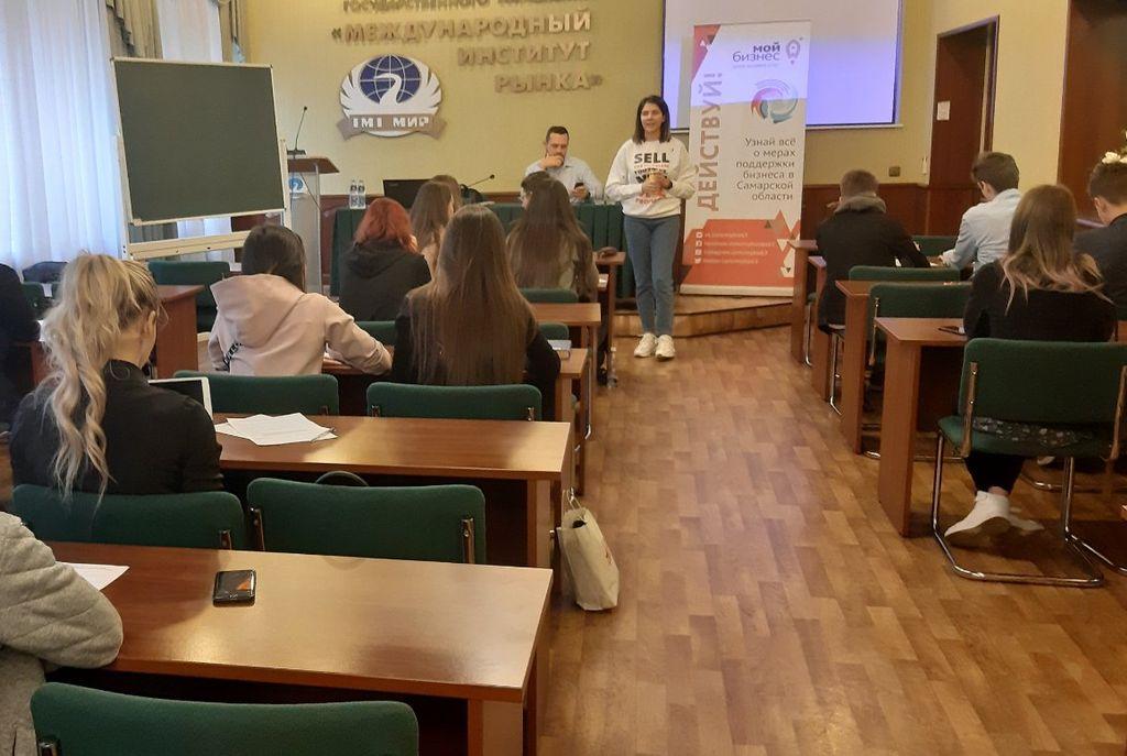 Встреча с бизнесменом из Санкт-Петербурга Андреем Шарковым
