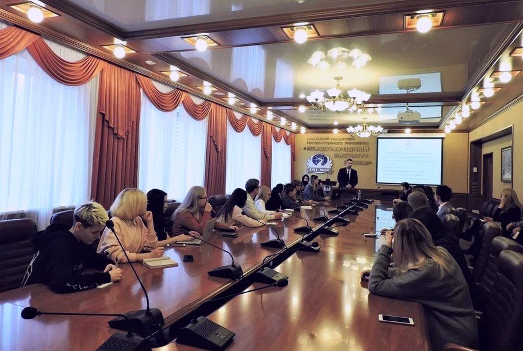 Встреча с главой Исполкома ассоциации юристов