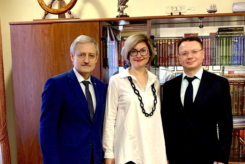 Университет «МИР» посетил представитель МИД России по г. Самаре Алексей Чупахин