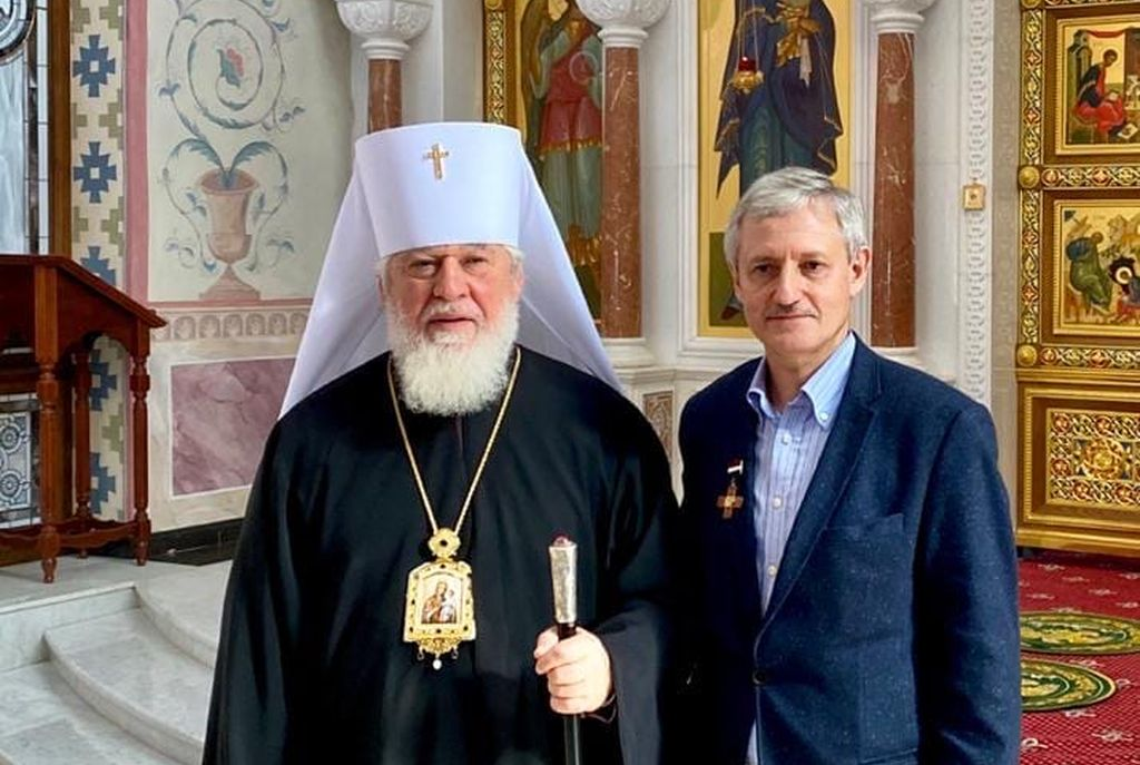 Ректор Университета «МИР» награжден Почетным знаком Самарского Знамени