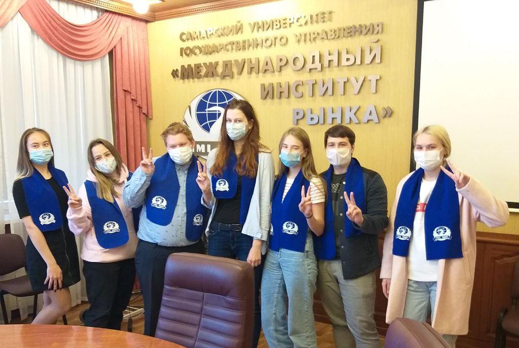 Студенческие лидеры презентовали свои проекты