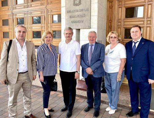 Заседание Общественной палаты Самарской области